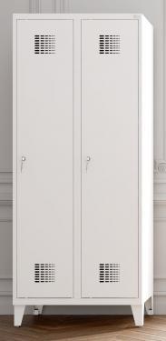Sum 321 W hosszúajtós öltözőszekrény (2 ajtós, lábakon álló)
