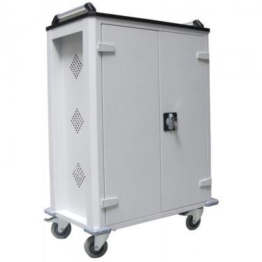 WNT 33 laptop/tablet tároló kocsi (fémszekrény 32+1 eszköznek, töltővel)