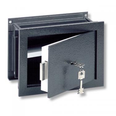 WT 11 S állítható mélységű fali széf kulcsos zárral, tűzvédett ajtóval