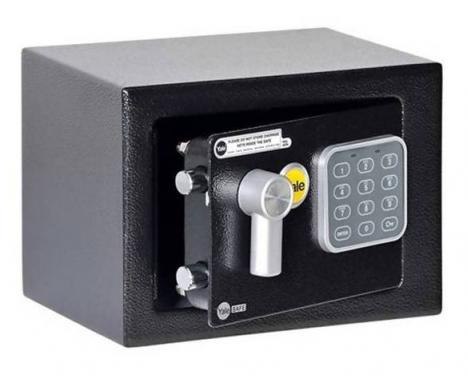 Yale - YSV/170/DB1 kisméretű széf elektronikus zárral