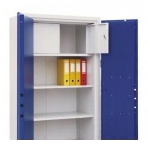 Zárható belső trezor SamW 3a tűzálló iratszekrénybe