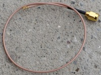 U.FL - RPSMA dugó pigtail 40cm, SuperLowLoss