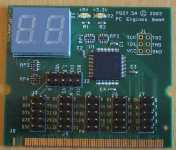 MiniPCI POST.5A code display