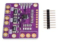 INA3221 DC áram/feszültség monitor modul, 3ch. I2C