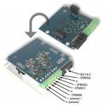 LAN controller bővítőlap LKV3-hoz
