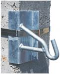 METZ HB080 Lengőhorog balos nsz. oszlopra (törésponti)
