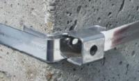 METZ SA010 Sarokanya, M10, rozsdamentes acél