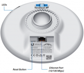NanoBeam M5 16dBi 5GHz kültéri AP/Kliens