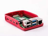 Raspberry Pi Case Red/White ház RBI Pi4