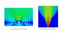 RF elements szimmetrikus szektor 30° 5GHz