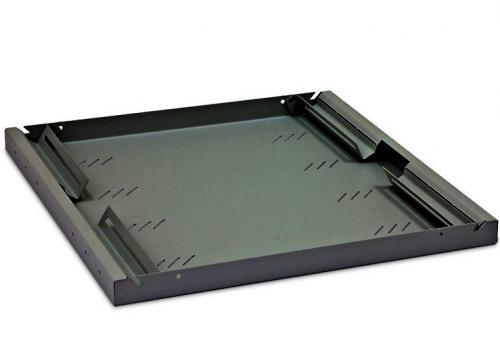 """19"""" 550mm perforált rack polc RAB-UP-550-A3"""