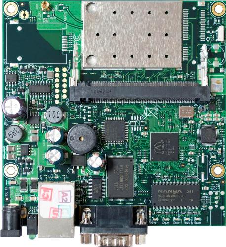 RouterBOARD 411AR alaplap, Level 4