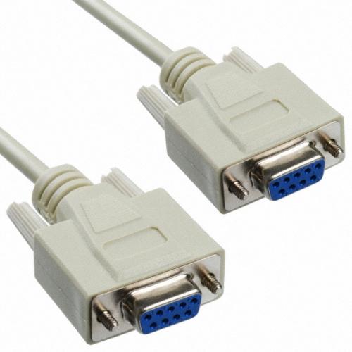 Soros link kábel 1.8m, DB9F-DB9F