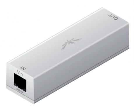 Ubiquiti 48V / 18V POE adapter 802.3af, beltéri