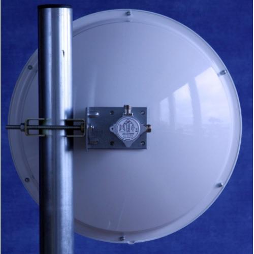Jirous JRC-24 DD MIMO parabola antenna pár 5GHz 24dBi
