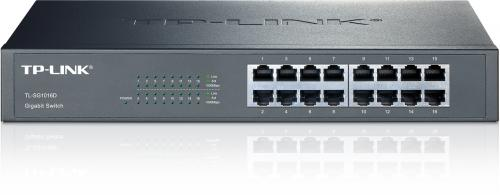 TP-Link TL-SG1016D 16 portos Gigabit rack/asztali switch