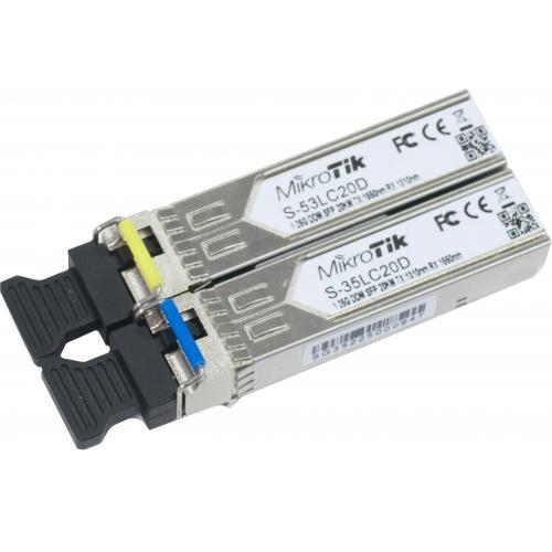 SFP modul pár 1.25G Single Mode (S-35/53LC20D)