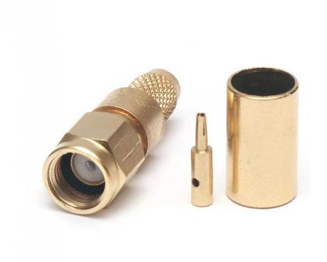 RP-SMA dugó H155/RF240 krimpelhető