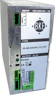 BKE JS-300-275 27,5V 300W DIN tápegység akkutöltő