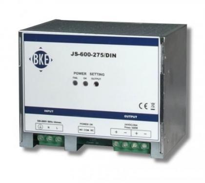 BKE JS-600-545 54,5V 600W DIN tápegység akkutöltő