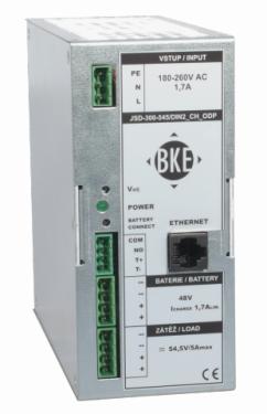BKE JSD-300-275 27,5V 300W IPmonitor.táp + akkutöltő