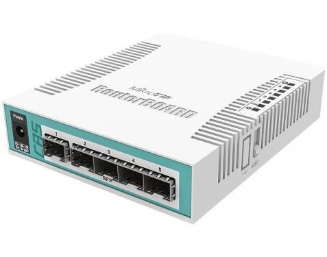 Cloud Router Switch CRS106-1C-5S asztali