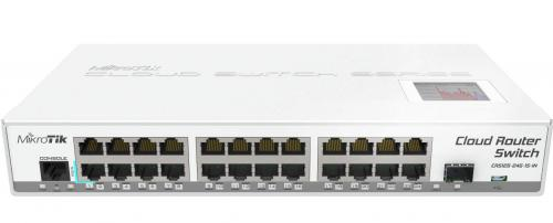 Cloud Router Switch CRS125-24G-1S-IN asztali switch