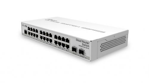Cloud Router Switch CRS326-24G-2S+IN asztali