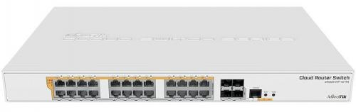 Cloud Router Switch CRS328-24P-4S+RM 1U rack