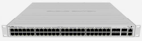 Cloud Router Switch CRS354-48P-4S+2Q+RM 1U rack