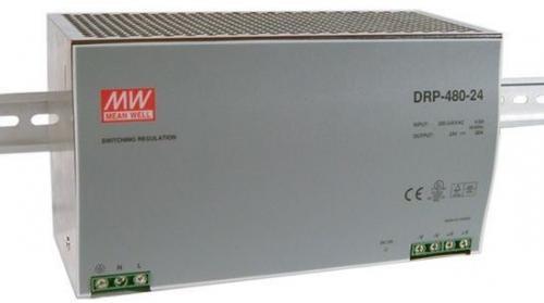 DRP-480-24 480 Watt 24 Volt tápegység, DIN