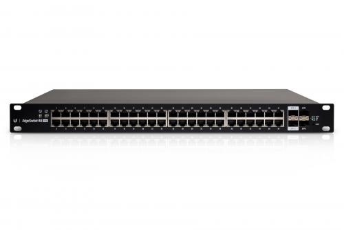 EdgeSwitch 48 port 750W Gigabit POE switch, Rack