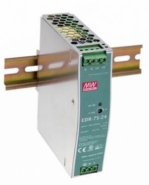 EDR-75 75 Watt tápegység DIN