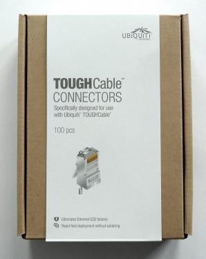 FTP csatlakozó fali kábelhez Ubiquiti, 100 darabos csomag