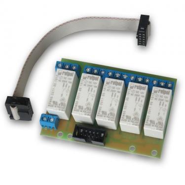 LAN controller Relay board, 5-ös