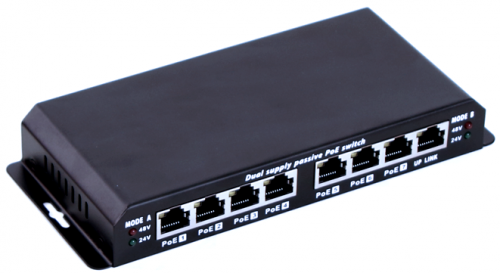 MaxLink POES-8-7P-NOPS 7 portos POE switch