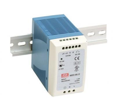 MDR-100 90 Watt tápegység, DIN