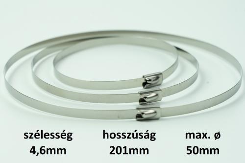 METZ golyós zárású bilincs 4,6X201 mm d=50 mm r.m.