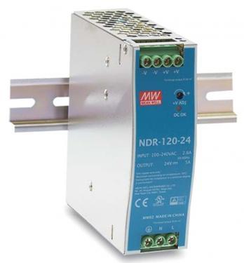 NDR-120-24 24V 120W tápegység DIN