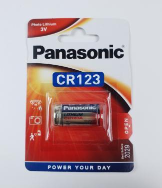 Panasonic CR123 3V Lithium elem