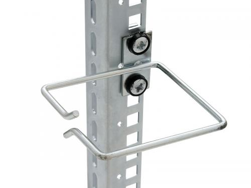 Rack kábel vezető gyűrű 40x80 mm-es
