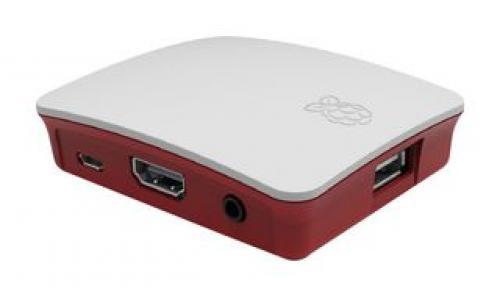 Raspberry Pi Case Red/White ház RBI Pi3 A+