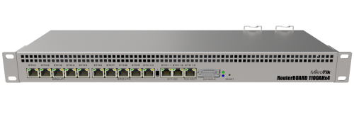 RouterBOARD 1100AHx4 router 1U rack