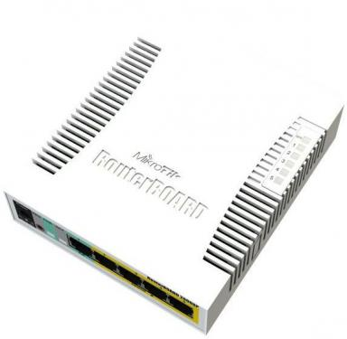 RouterBOARD 260GSP SOHO POE switch