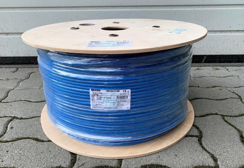 S/FTP kábel CAT.7 fali, Belden 1885ENH, halogénmentes, 500 méter