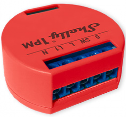 Shelly 1PM WiFi Relay Switch with Power Metering 16A