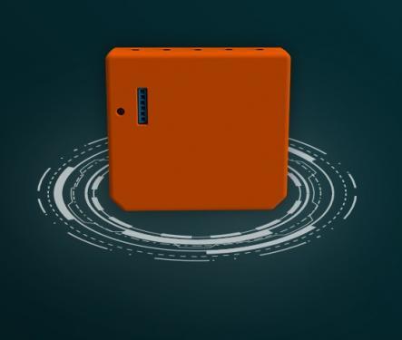 Shelly i3 WiFi Multi Switch 3 bement modul