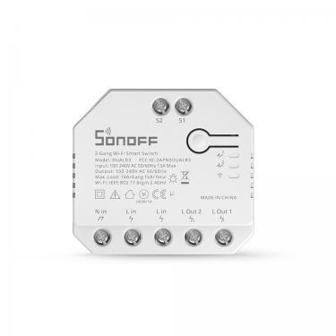 Sonoff DIY DUALR3 2-Gang WiFi Smart Switch