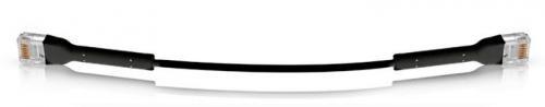 Ubiquiti CAT6 patch kábel 100 cm FEKETE