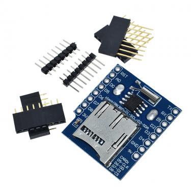 Wemos D1 Mini RCT/Data Logger SD card Shield